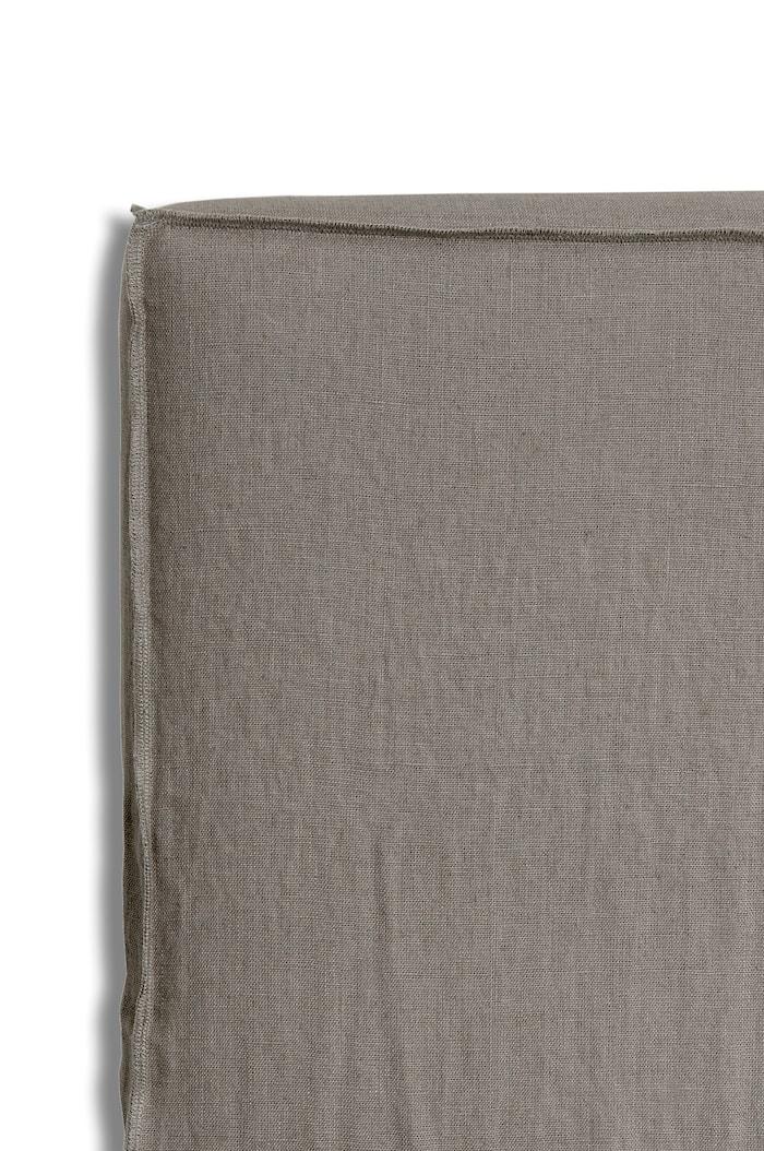 Sänggavelklädsel Mira Loose-fit stone 160x140