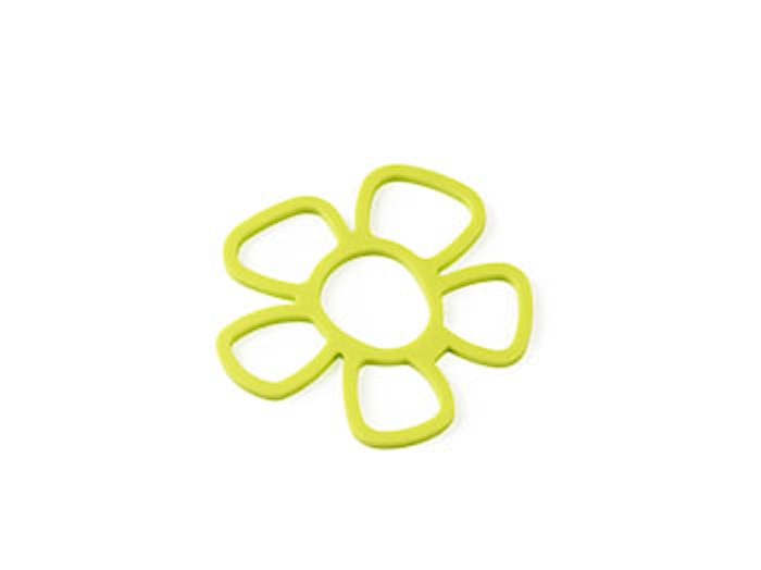 Grytunderlägg Blomma Lime Silikon