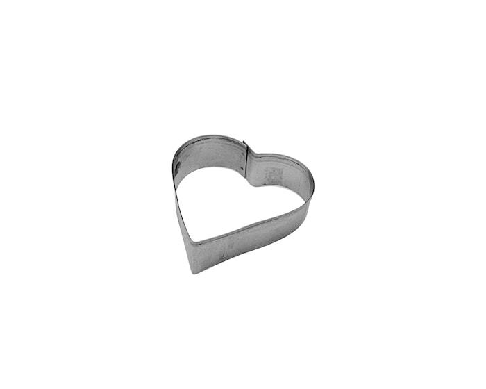 Leivosmuotti teräs 6 cm sydän