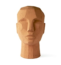 Abstract Huvudskulpturhead Terracotta