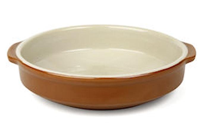 Form Ø 17 cm brun/beige