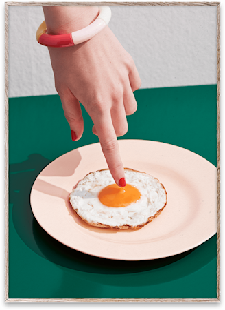 Fried Egg Poster 50x70 cm