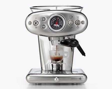 X1 E&C 60247IL Espressomaskin Silver