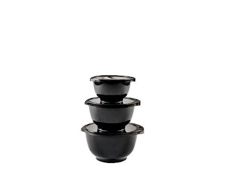 Black Edition Miniskålset 0,35+0,5+0,75+lock