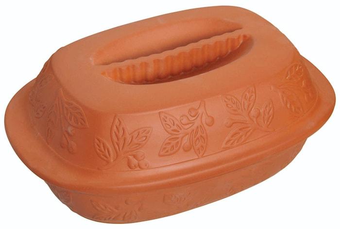 Home Made Terracotta Ceramic Roasting Pot