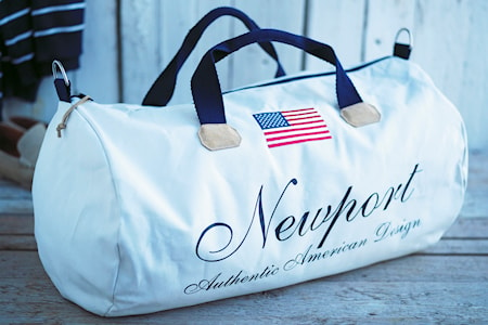 Cypress Point weekend bag - White