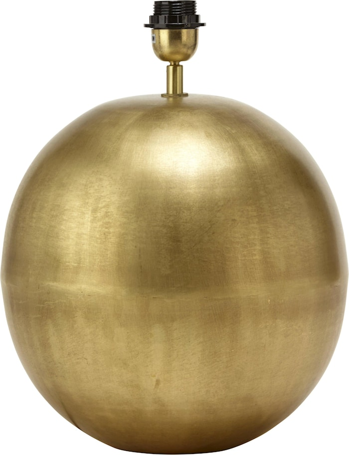 Globe Lampefod Pale Gold 23cm