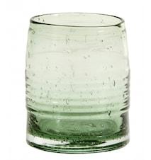 GREENIE Drycksglas transparent Grönt