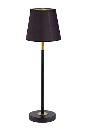 Bordslampa Cia Med lampskärm Mia
