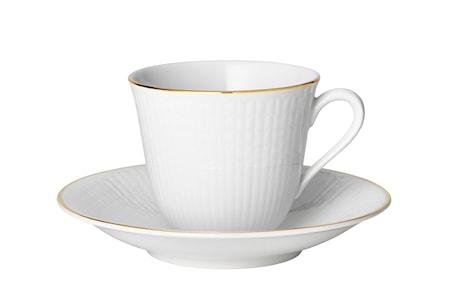 Swedish Grace Gala kaffekopp 16cl med fat