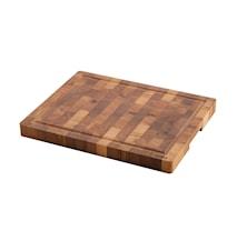 Planche à découper chêne coupé dans le sens du bois Thermobok 46x36x4 cm