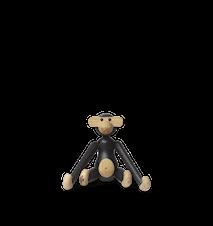 Ape mini mørkbeiset eik