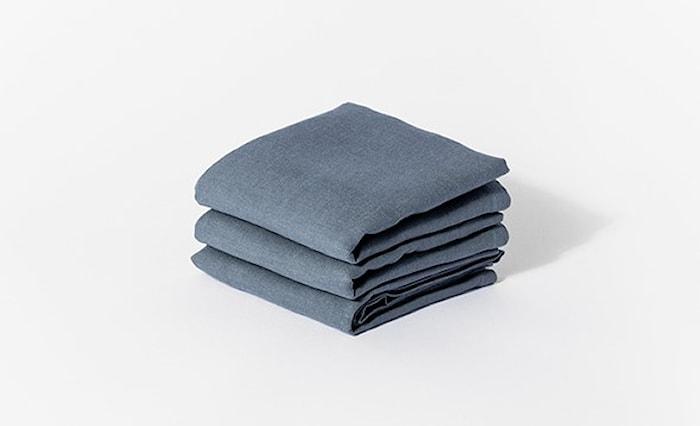 Servett Blue Steel 50x50 cm