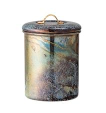 Burk med Lock Multi-color Rostfritt Stål
