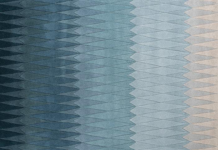 Acacia Ullteppe Blå 200x300 cm