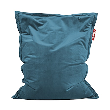 Fatboy® Original Slim Velvet Sittsäck Recycled Cloud