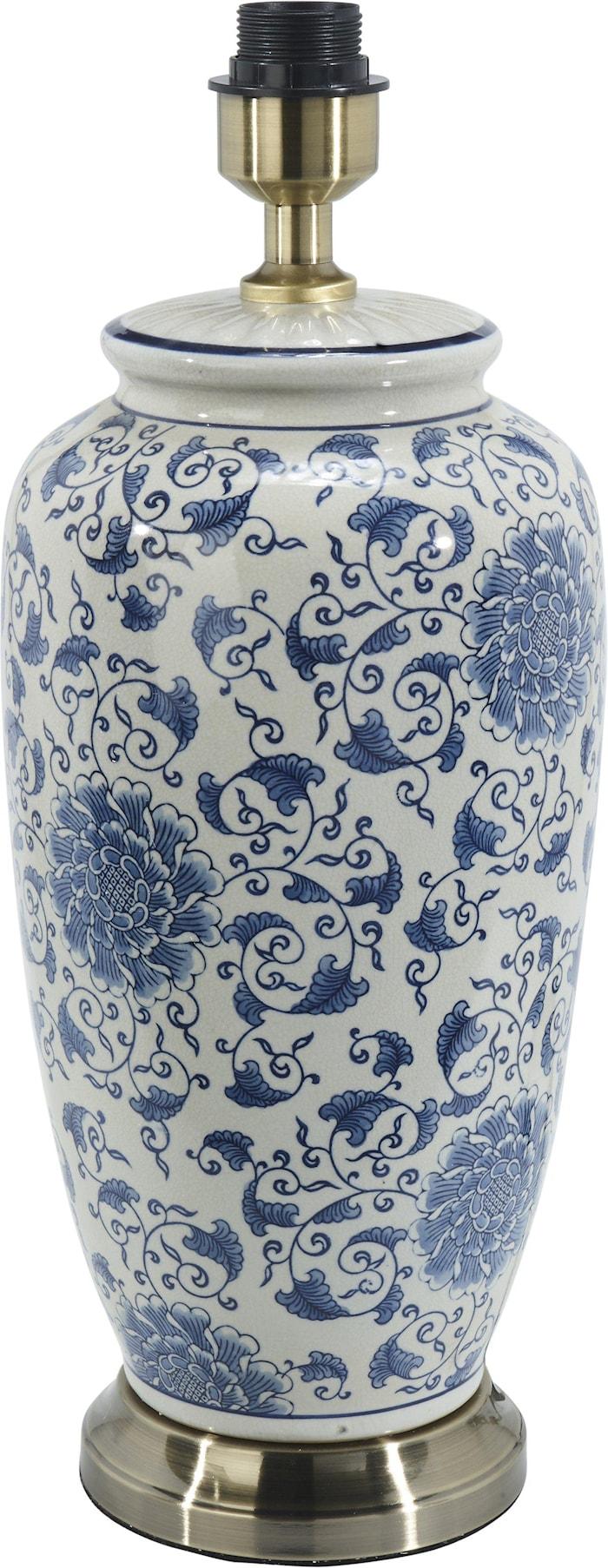 Li Jing Lampefot Hvit/Blå 49cm