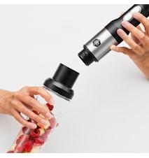 Precision sauvasekoitin smoothie-kannulla ja lisätarvikkeilla
