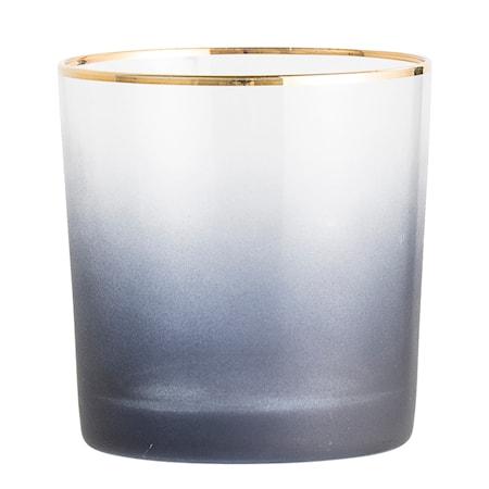 Lysholder Glas Blå 9x9