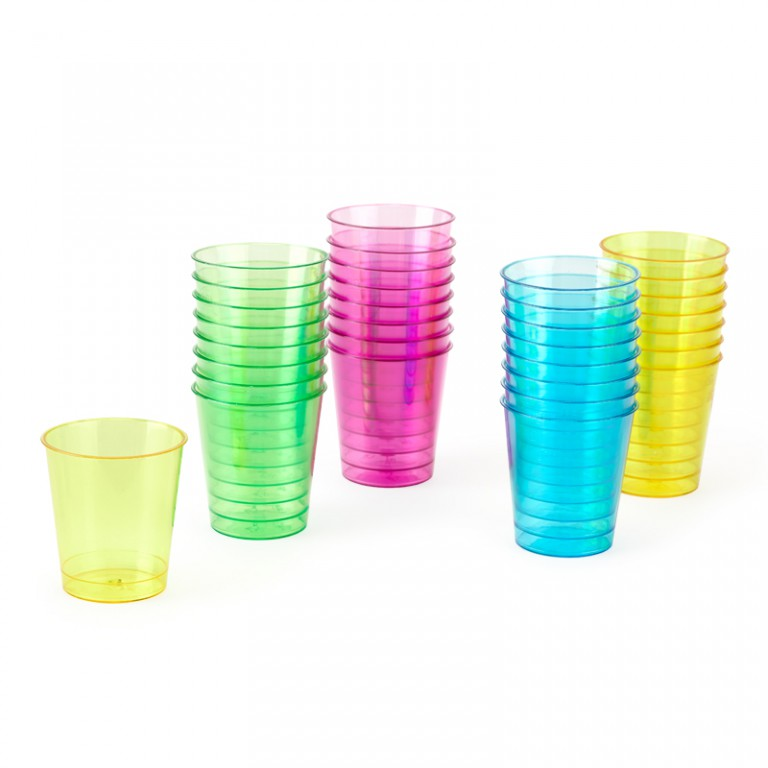 Shotglas Plast 3cl 32-pack