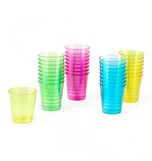 Shotglass Plast 32-pakning