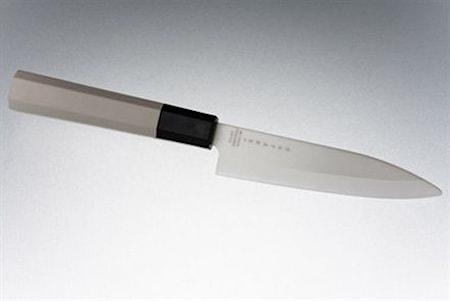 Keramisk skalkniv 11 cm vit