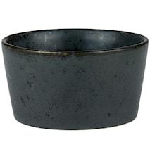 Ramekin Ø9 H4,5 sort sten Bit