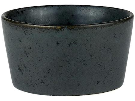 Ramekiini Ø9 H4,5 kivitavaraa musta