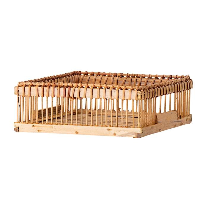 Servettkorg Brun Bambu