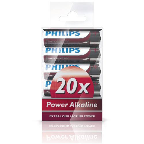 Fashion Power Alkaline AA 20-pack