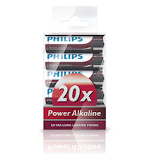 Fashion Power Alkaline AA 20 Pack