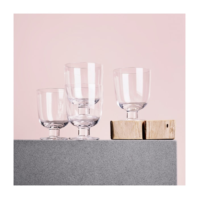 Lempi glass 34cl clear 4-pack