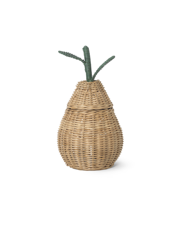Braided Storage - Small Pear - Natural