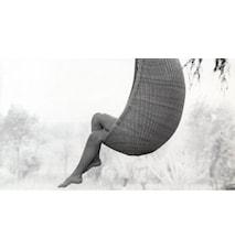 Hanging egg chair hängstol För utomhusbruk