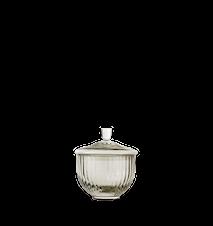 Bonbonjär Munnblåst Glass Smoke Ø8 cm
