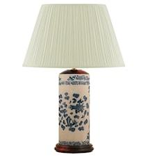 Lampfot 32cm Pennmodell Fiskar Gråvit med Botten