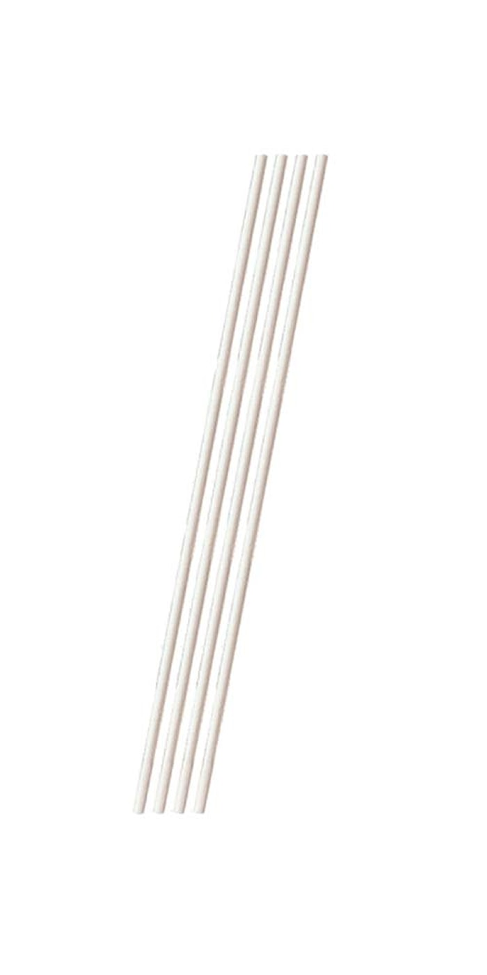 Klubbpinner 50-pakning Hvit
