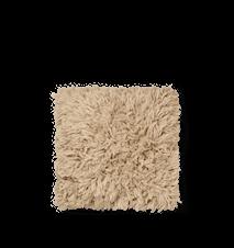 Meadow High Pile Kudde  Light Sand
