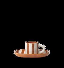 Milu Snack Set  Terracotta