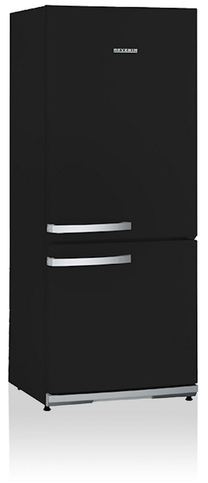 Jääkaappipakastin, Musta, 227L, A++ (K:150Cm)