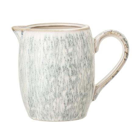 Natasha Milk Jug, Grey, Stoneware