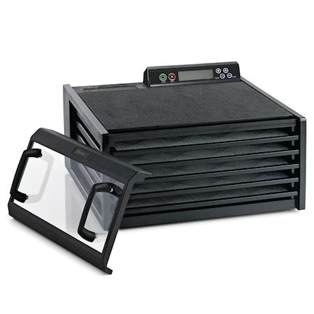 Tørreovn Timer og Digital Temperaturstyring, 5 plader