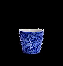 Spets Espressokopp Blå 10 cl