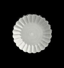 Oyster Tallrik Grå 28 cm