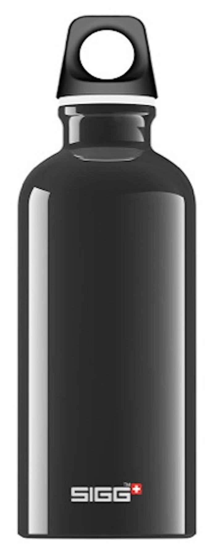 Flaska Traveller Svart 0,6 l