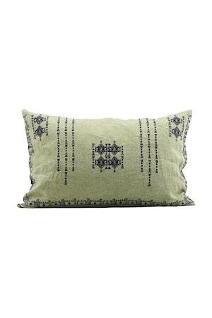 Tyynynpäällinen Inka 40x60 cm - Vihreä