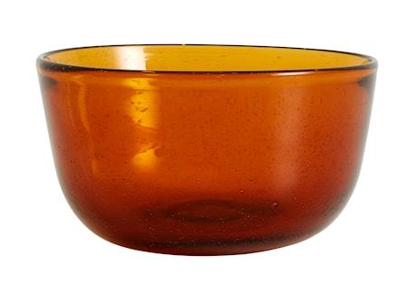 Airy cuenco vidrio Amber