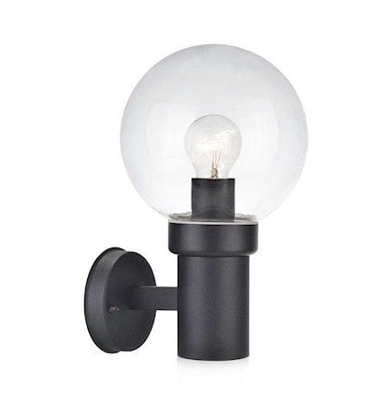 Caris Vegglampe Svart