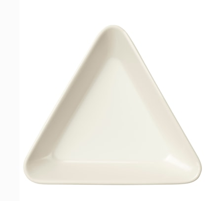 Plat Teema triangulaire 12 cm blanc
