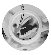 Tallrik flat Juno Ø27,5cm, grå